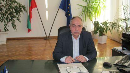 Областният управител на Шумен проф. Стефан Желев