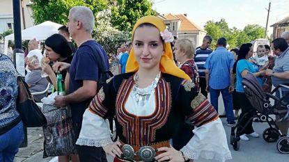 Калина Сурдолова с костюм от Кюстендилско