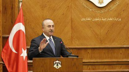 Турският дипломат №1 Мевлют Чавушоглу отправи предупреждението на пресконференция в Аман.