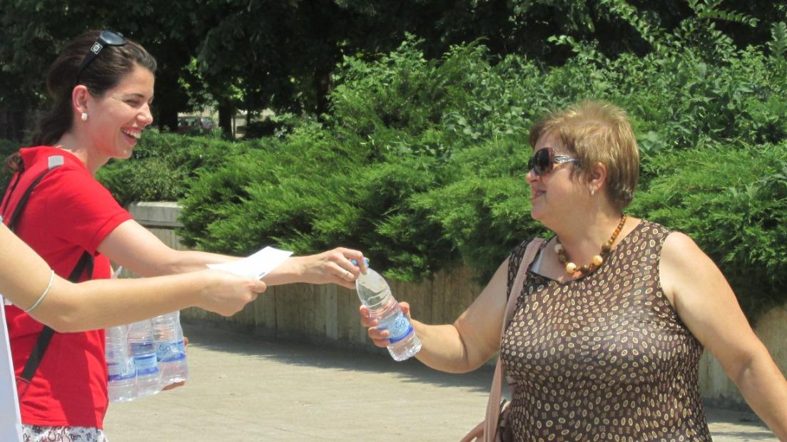 От днес до 17 август Столичната община организира безплатно раздаване