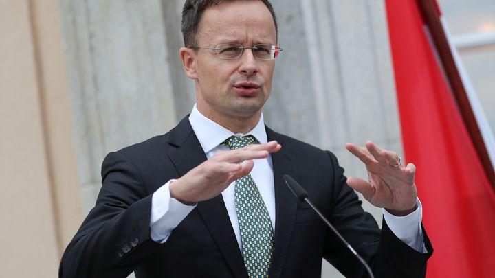 Унгарският външен министър Петер Сиярто