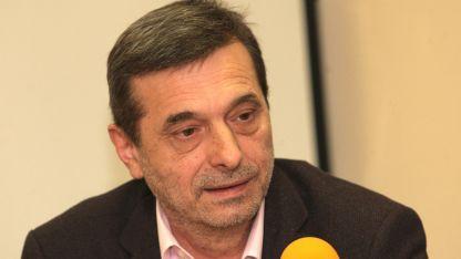 """Президентът на КТ """"Подкрепа"""" Димитър Манолов"""