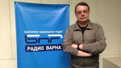 Любомир Бенковски в студиото