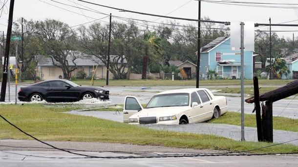 Наводнения в Рокпорт, Тексас
