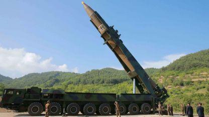 Балистична ракета в Северна Корея