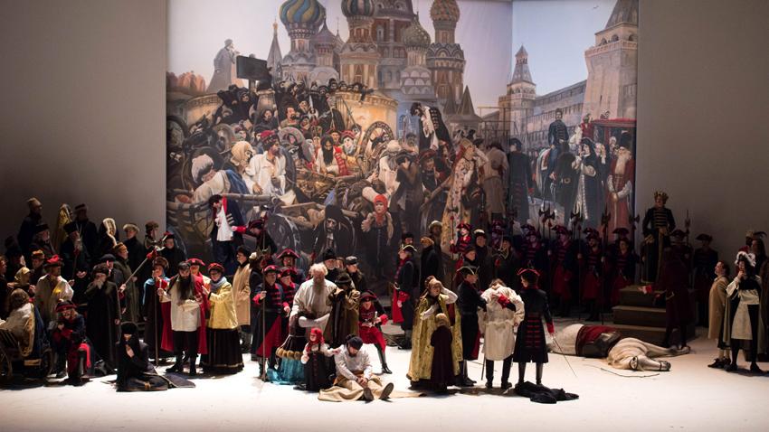 """Постановка на """"Хованщина"""" на Националната опера в Амстердам"""