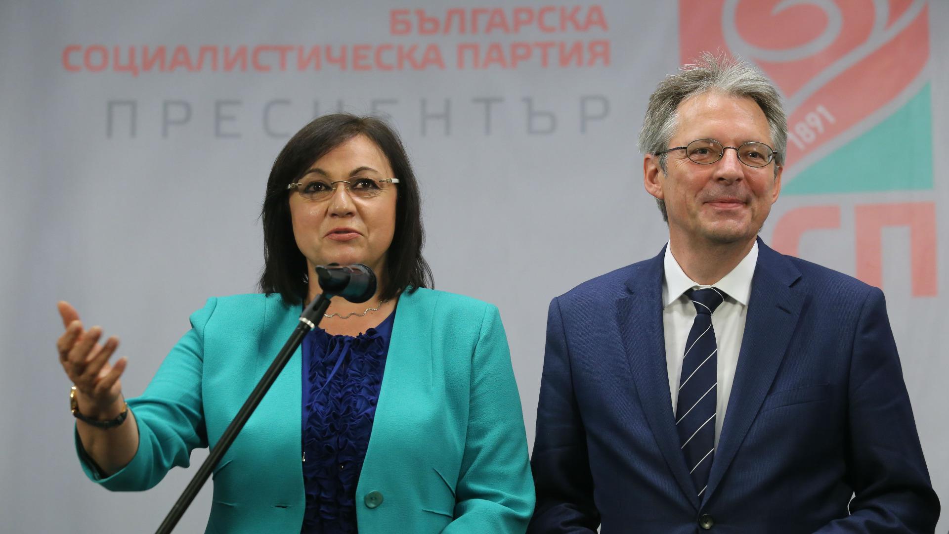 Корнелия Нинова и Генералният секретар на ПЕС Ахим Пост направиха съвместно изявление по проведените разговори за Истанбулската конвенция.