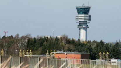 "Контролната кула на летище ""Завентем"" на белгийската столица Брюксел."