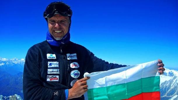 Боян Петров на връх Нанга Парбат