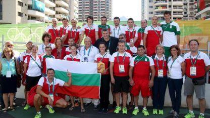 Стефка Костадинова и Красен Кралев посетиха българските спортисти в олимпийското село