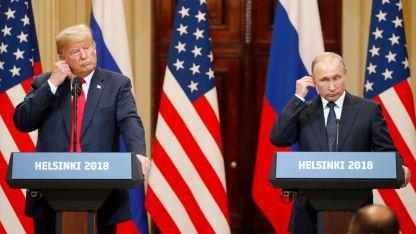 Тръмп и Путин дадоха съвместна пресконференция в Хелзинки