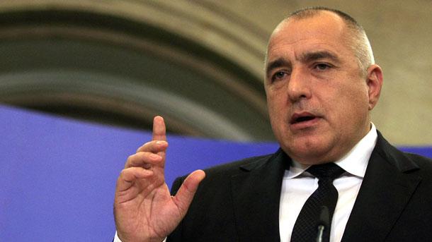 Премиерът Бойко Борисов съобщи пред журналисти във Варна за започнала