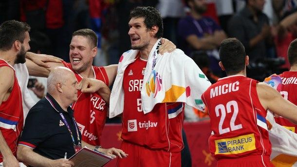 Сърбия е финал на европейското по баскетбол
