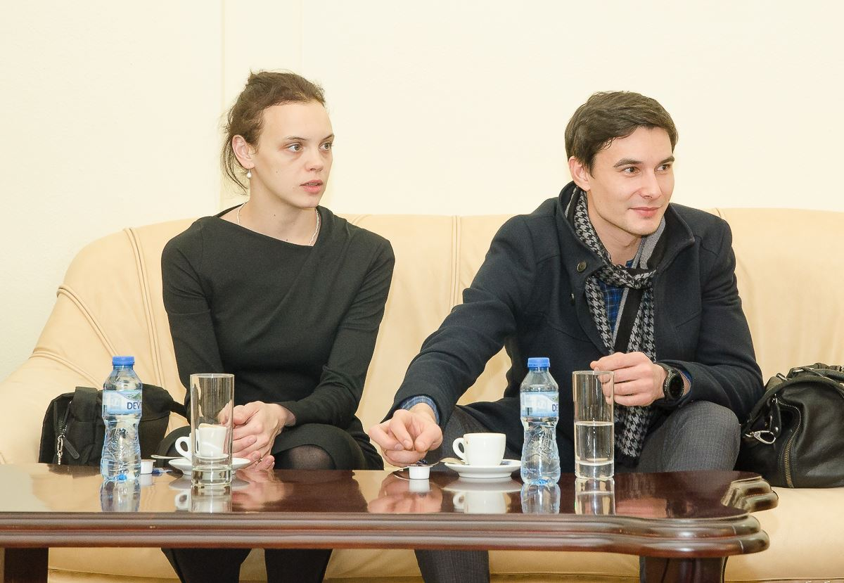 Татяна Ткаченко и Иван Оскорбин