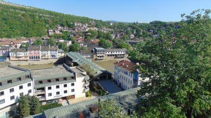 Изглед към град Ловеч