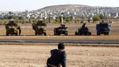 Граничният район между Сирия и Турция, населяван от кюрди