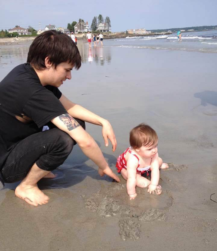 Робърт Гродт и неговата дъщеря