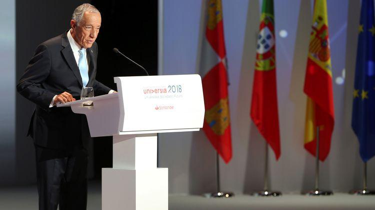 Президентът на Португалия Марселу Ребелу де Соза