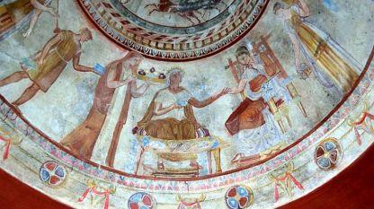 Стенопис от Казанлъшката гробница