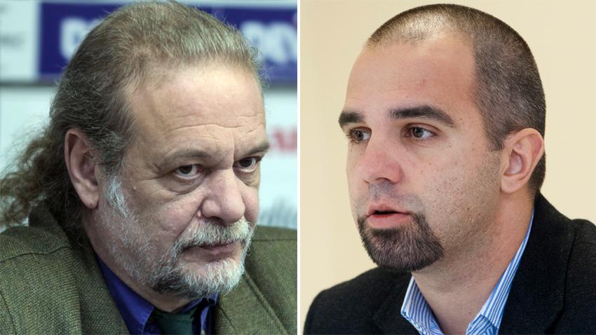 Evgenii Daynov and Parvan Simeonov