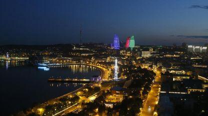 Pamje nga Bakuja e Azerbajxhanit