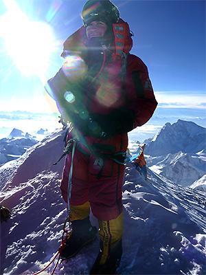 Атанас Скатов на връх Еверест