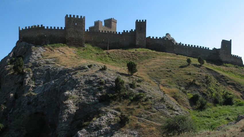 Крепостта Судак / Снимка: wikipedia.org