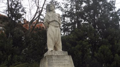 Паметникът на Васил Левски във Велико Търново