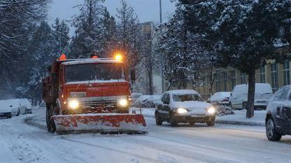 В по-голямата част на Южна България утре се очакват снеговалежи.