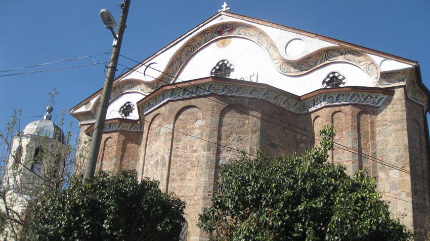 Ο Ναός Κοιμήσεως της Υπεραγίας Θεοτόκου