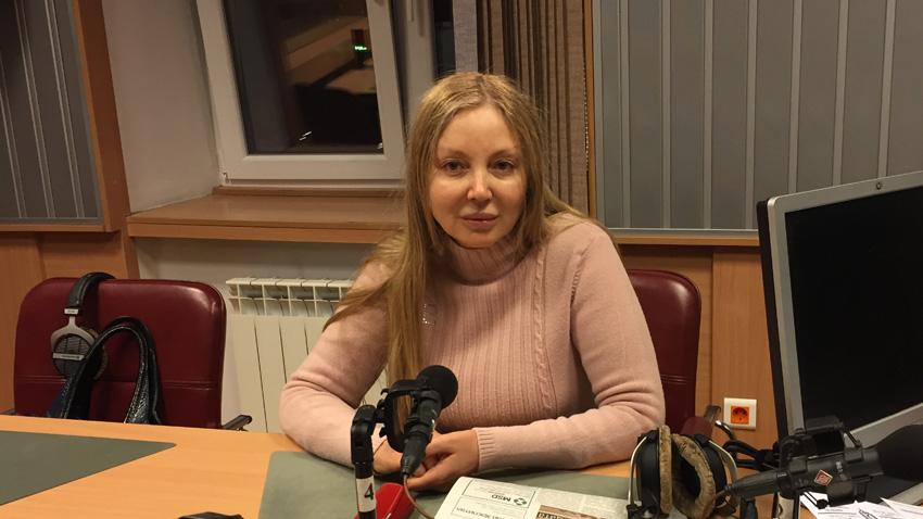 """Д-р Мариана Симеонова в студиото на програма """"Христо Ботев""""."""