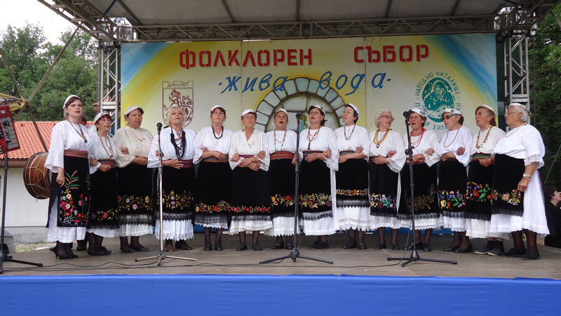 Новоселската група на фолклорния събор в Димово