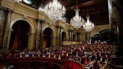 Сесия на Каталунския парламент
