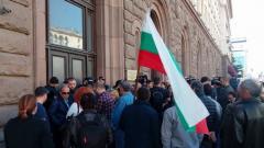 Протест на фермерите пред президеннтството