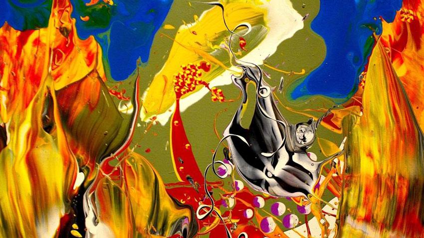Фрагмент от картина на Петър Георгиев-Рей