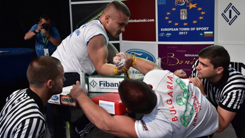 Божидар Симеонов стана световен шампион по канадска борба в Будапеща