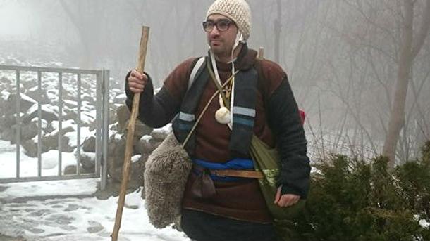 Венцислав Илијев из Шумена кренуо да пешке обиђе света места Европе