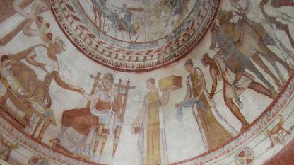 Тракийската гробница в Казанлък, датирана е в края на IV в. пр. Хр. – началото на III в. пр. Хр.