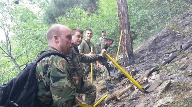 Действията на модулното формирование се ръководят от майор Марин Цаловски