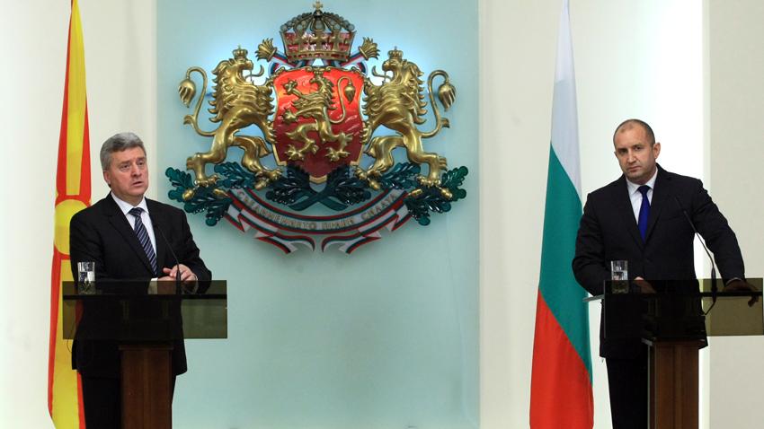 На официално посещение в България е президентът на Република Македония Георге Иванов. Визитата е по покана на българския държавен глава Румен Радев.