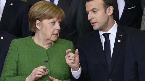 За писмото до Путин от Меркел и Макрон бе съобщено, докато двамата европейски лидери бяха в Брюксел за донорска конференция за Сахел.