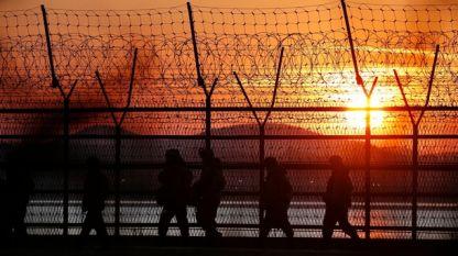 Границата между Северна и Южна Корея