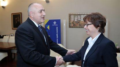 Борисов и Катрин де Бол са оценили високо съвместните операции на българските и белгийските полицейски служби по линия на противодействие на тероризма