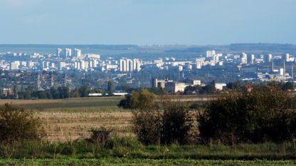 Изглед към град Плевен