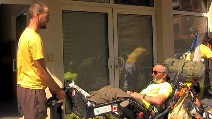 Участник в околосветска обиколка, болен от множествена склероза