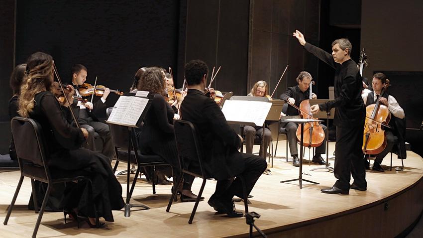 """Концерт на """"Ценов камерен ансамбъл"""" в зала """"Бруно Валтер"""" в """"Линкълн център"""" в Ню Йорк на 29 май 2015 г."""