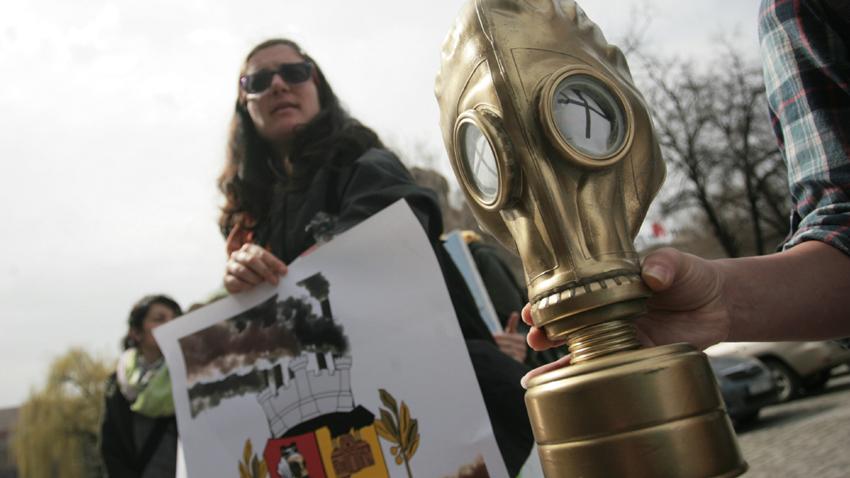Акция срещу проекта за изграждане на инсталация за изгаряне на отпадъци в ТЕЦ-София от... 2016 г.