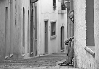 Peekaboo, Victoria, Gozo, August 2013