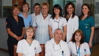 Проф. Енчо Савов и неговия екип