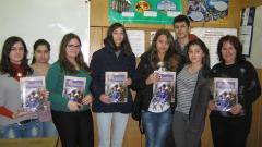 Театралната трупа във видинската езикова гимназия